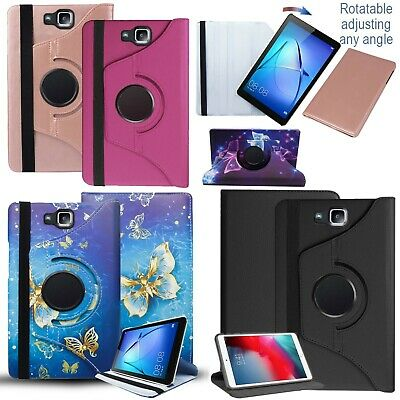 For Samsung Galaxy Tab E 9.6 SM-T560/T561 360° PU Leather Stand Flip Case Cover