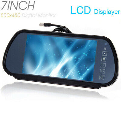 """7"""" TFT LCD Mirror Parking Monitor for Car Reverse Rear View Recorders Camera"""