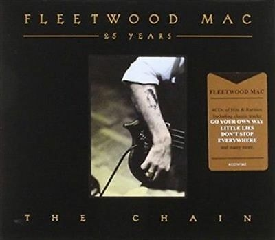 FLEETWOOD MAC 25 Years The Chain 4CD BRAND NEW Greatest Hits Best Of Compilation