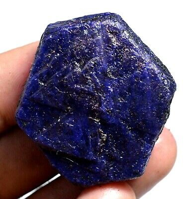 211.0 Ct Natural Huge Blue Sapphire Certified Earth-Mined Facet Rough Gemstone