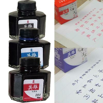 Fountain Pen Ink Bottle 60ml 3 Colors Select H3K6