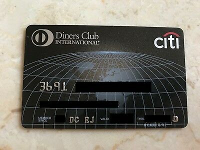 Diners Premium Black highest Japanese Diners Club Card
