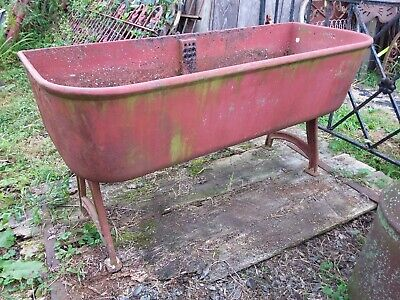 Antique J.L. Mott Cast Iron Sink 4 ft