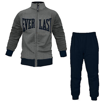 EVERLAST Pigiama Tuta Uomo in Felpa Full Zip Art. EV31094