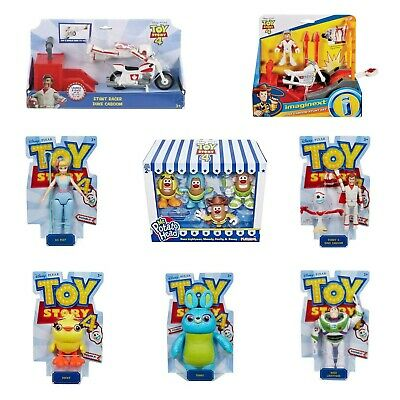 Toy Story 4 Toys Figures Playsets Duke Caboom Buzz Bo Peep Bunny Ducky Potato