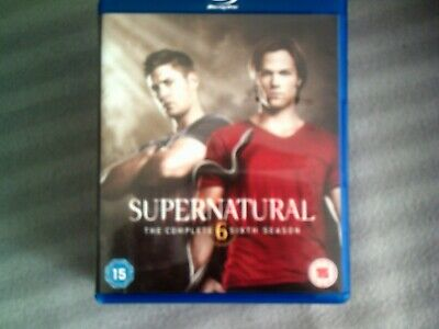 Supernatural The Complete Sixth Season*Series Six (6)*Blu Ray*Tv*4 Disc*