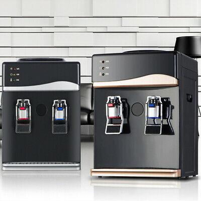 Ne_ 220V 550W Water Cooler Table Top Household Warm & Cold Hot Water Dispenser