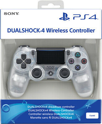 Controller Originale Sony Playstation 4 Ps4 Dualshock V2 Crystal Wireless Nuovo
