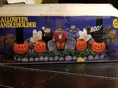 Accents Unlimited Wee Crafts Halloween Candleholder #21668