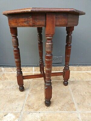 antique inlaid  hall / side / occassional / coffee table