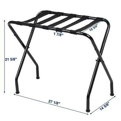 680x400x560mm Portable Metal Luggage Suitcase Rack Stand Shelf Holder Organiza
