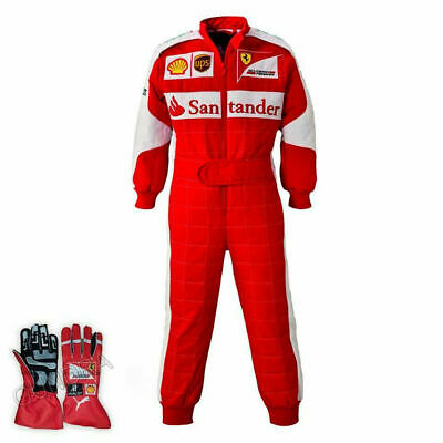 Santander-Go Kart Racing Suit Cik Fia Level Ii Approved