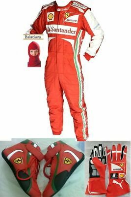 Santander-Go Kart Racing Suit Cik Fia Level Ii Approved With Shoes & Gloves