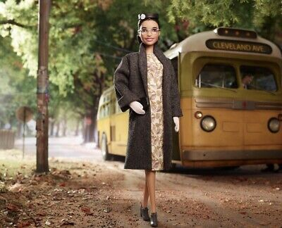 Rosa Parks Barbie Doll Inspiring Women Collection 2019 Mattel Ready To Ship