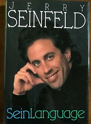 Jerry Seinfeld Seinlanguage Signed Hardcover Book PSA/DNA Guaranteed