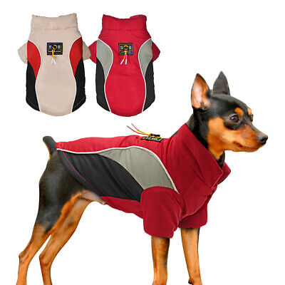 Winter Pet Dog Clothes Warm Jacket Thicker Cotton Coat Waterproof Large Dog Coat