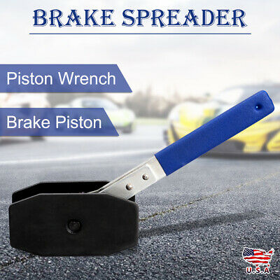 Car Ratchet Brake Piston Wrench Spreader Caliper Pad Install Press Tool US