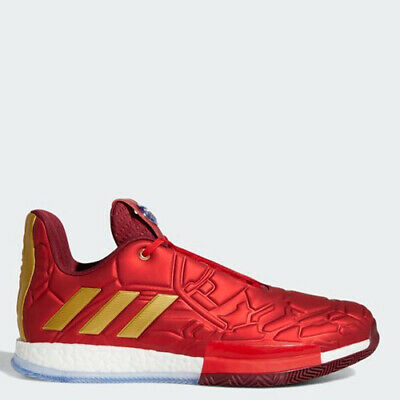 Adidas EF2524 Men Harden LS 3 Basketball shoes red sneakers
