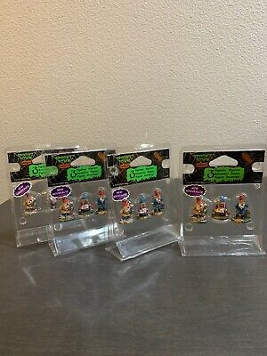 Lemax Spooky Town Zombie Garden Gnomes Set Of 3 Halloween Town New  Lot Of 4