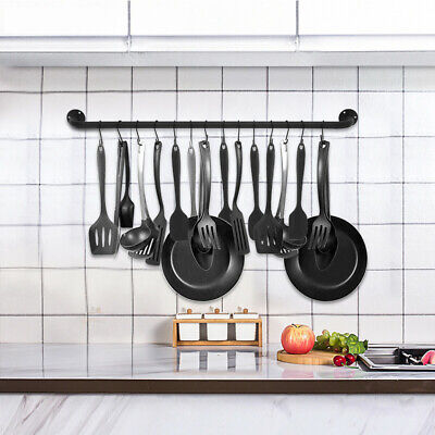 Pots And Pans Cookware Hanging Rack Wall Mount Iron Shelf