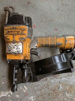 Bostich pneumatic coil Nail Gun in working order very reliable