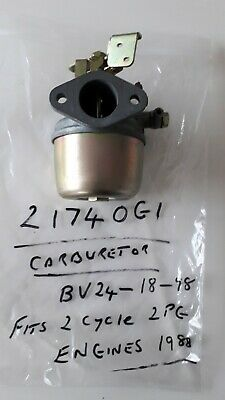 Ezgo Carburetor 21740 G1 BV24-18-98 2 cycle 2pg 1988