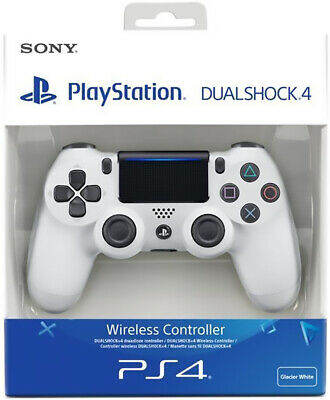 Controller Originale Sony Playstation 4 Ps4 Dualshock V2 Glacier White Wireless