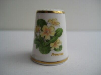 Royal Crown Derby The Flower Sprig China Thimble B//77