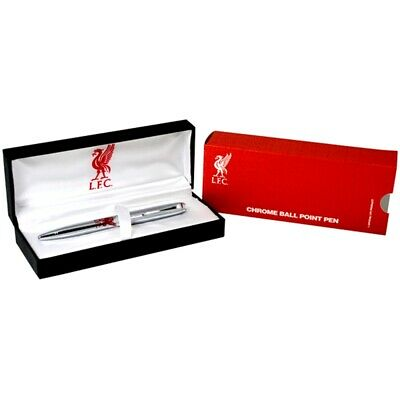 Liverpool Chrome Ball Point Pen - Official Licensed Foot Product Executive