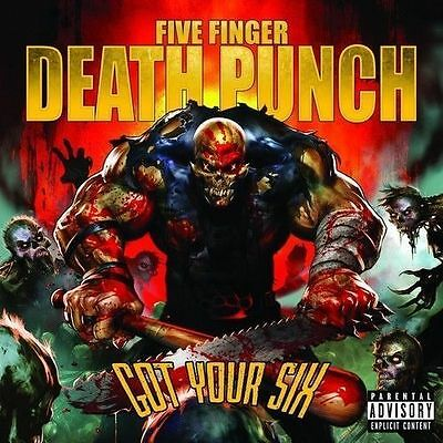 FIVE FINGER DEATH PUNCH Got Your Six CD NEW Deluxe Edition 3 Bonus Tracks