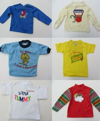vintage logo tops 60's 70's new old stock age 2 quirky baby