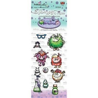 Little Monsters Clear Stamps Funky (pd7034)