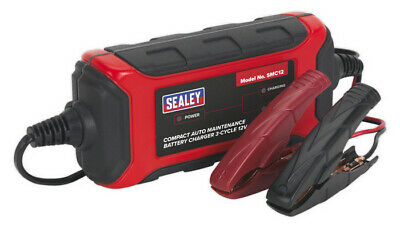 Battery Charger Compact Auto Maintenance 1.5A - 3-Cycle 12V from Sealey