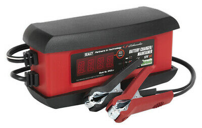 Intelligent Lithium Battery Charger 3Amp 12V from Sealey