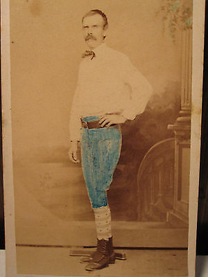 Antique Early Victorian Post Civil War Baseball Fitchburg Ma Id David May Photo