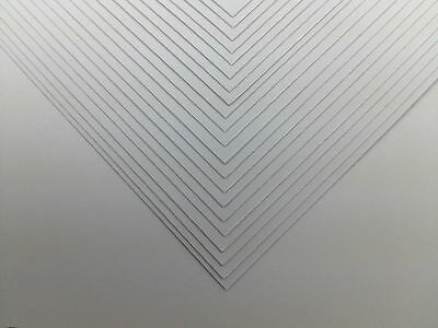 """White Craft Card 50 Sheets 12"""" x 12"""" Superior Scrapbooking Thick 300gsm Card"""