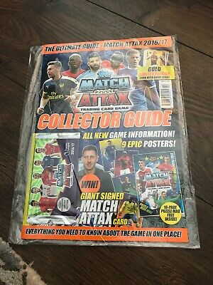 Topps Match Attax 2016/17 Collectors Guide Still Sealed