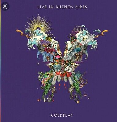 Coldplay Live In Buenos Aires 2CD 2018 brand new sealed