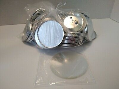 """Badge A Mint Blank Button Sets 2.25"""" 50 Total ~ New"""