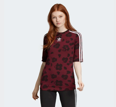 New Women's Adidas Originals All-Over Print Tee (EC1913)  Women Small