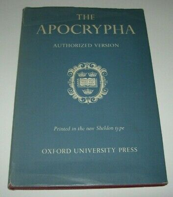 The Apocrypha - Vintage Authorized Version  -  Hb/Dj - Vgc