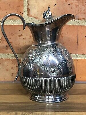 Vintage Silverplate Silver Plated Jug.