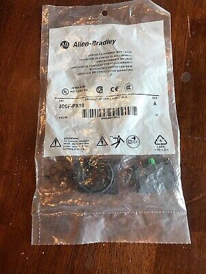 NEW Allen Bradley Contact Cartridge with Latch 800F-PX10 Series A FAST SHIPPING