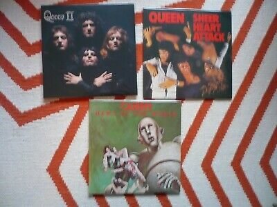 Queen News Of The World Lime Green Coloured Vinyl 2015 Complete Studio LP New