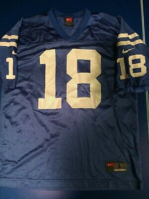 best service fa559 c0567 PEYTON MANNING INDIANAPOLIS Colts Jersey Youth M Nike #18 ...