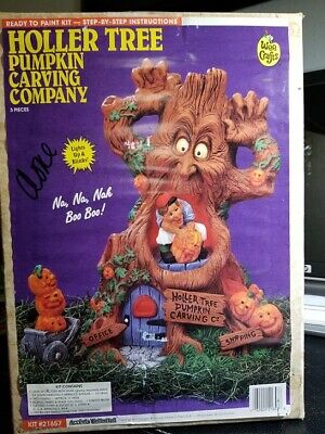 Accents Unlimited Wee Crafts Halloween Holler Tree Pumpkin Carving Company