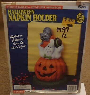 Accents Unlimited Wee Crafts Halloween Napkin Holder #21665