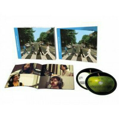 """BEATLES Abbey Road €"""" 50Th Anniversary Deluxe Edition DOUBLE CD Europe Apple"""