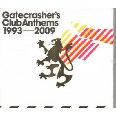 GATECRASHER'S CLUB ANTHEMS 1993-2009 Various TRIPLE CD Europe Rhino 60 Track 3