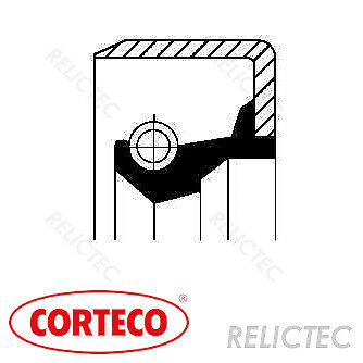 MANUAL TRANSMISSION GEARBOX PART 19016656B CORTECO SHAFT SEAL